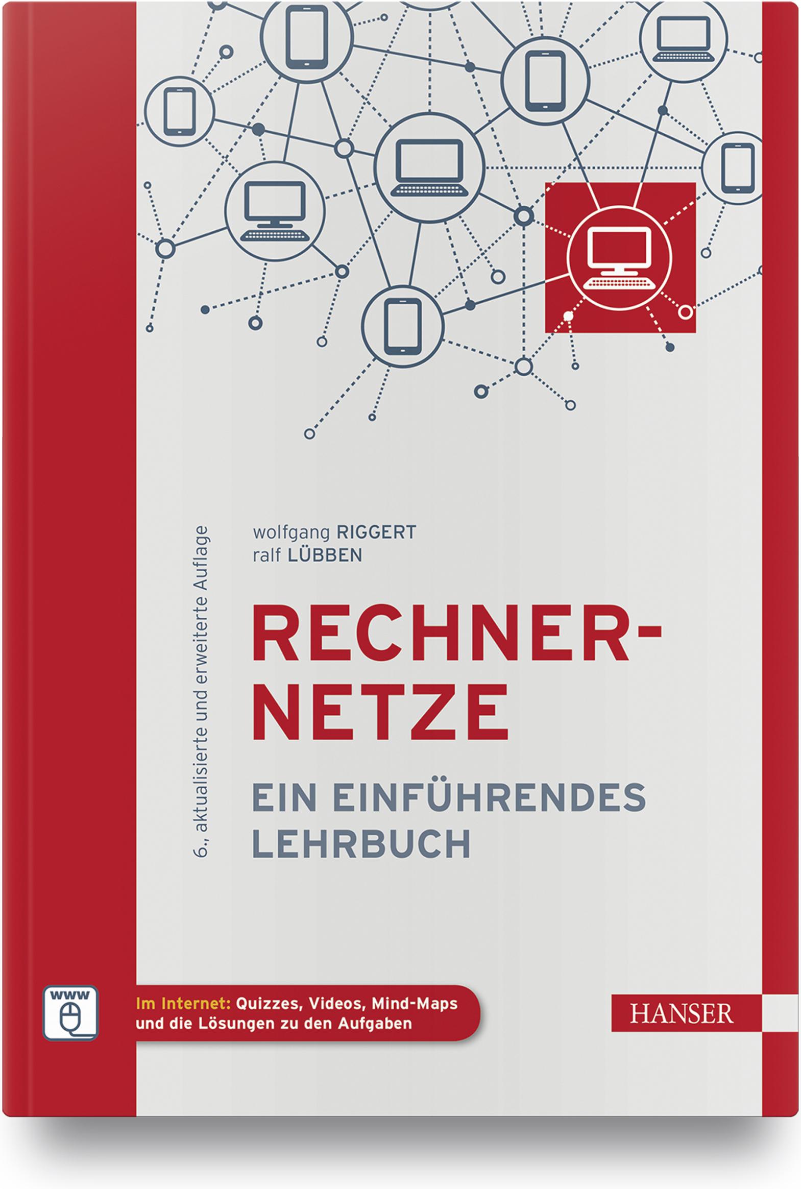 Riggert, Lübben, Rechnernetze, 978-3-446-46309-7