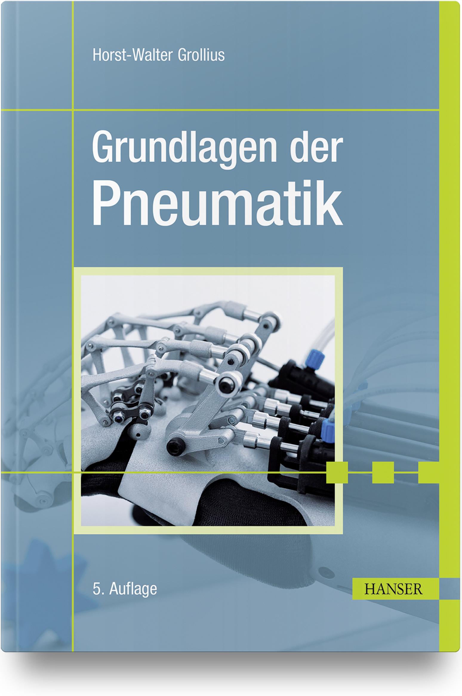 Grollius, Grundlagen der Pneumatik, 978-3-446-46407-0