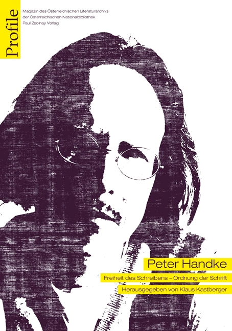 Profile 16, Peter Handke