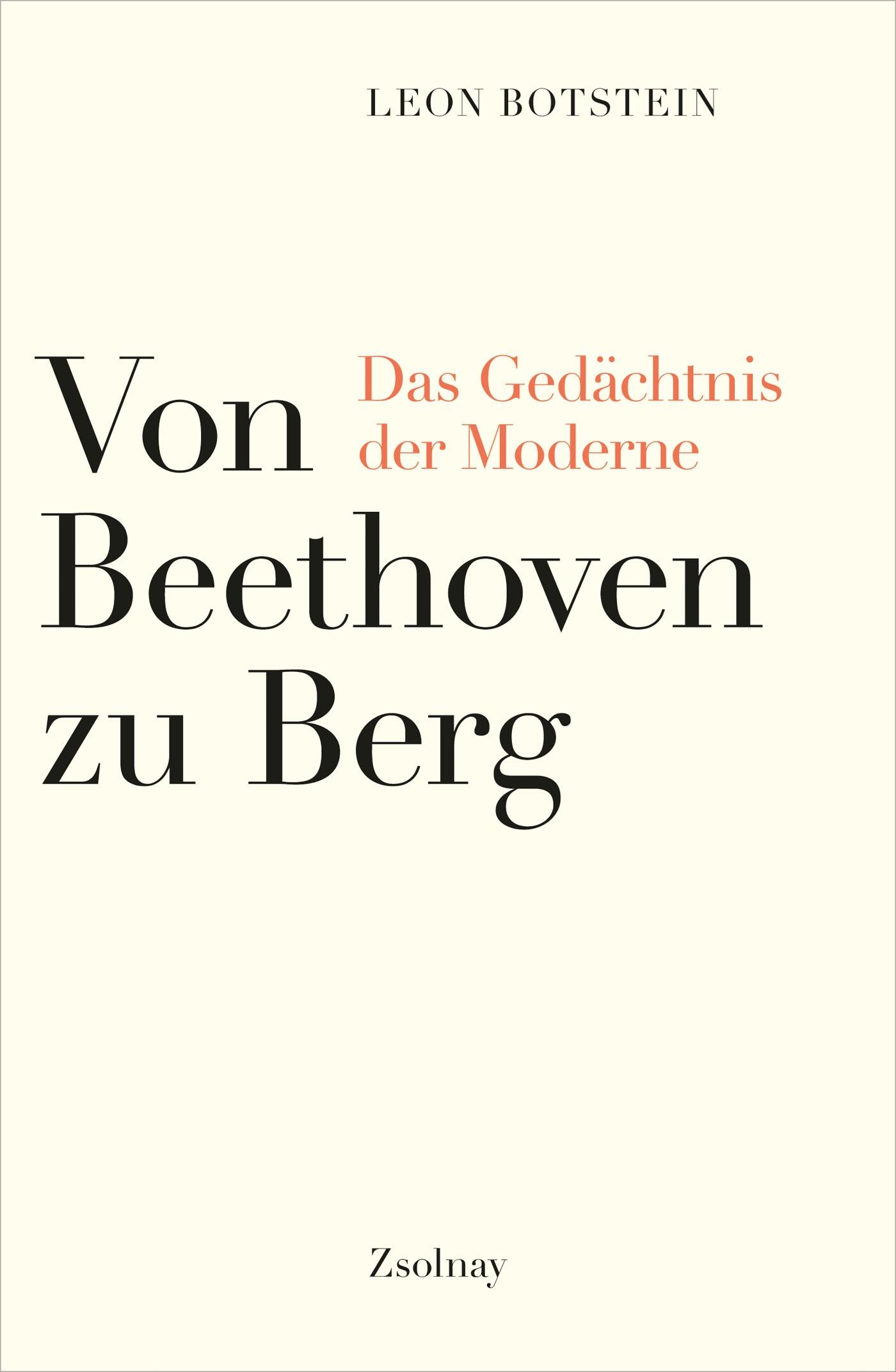 Von Beethoven zu Berg