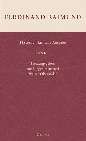 Historisch-kritische Ausgabe Band 1