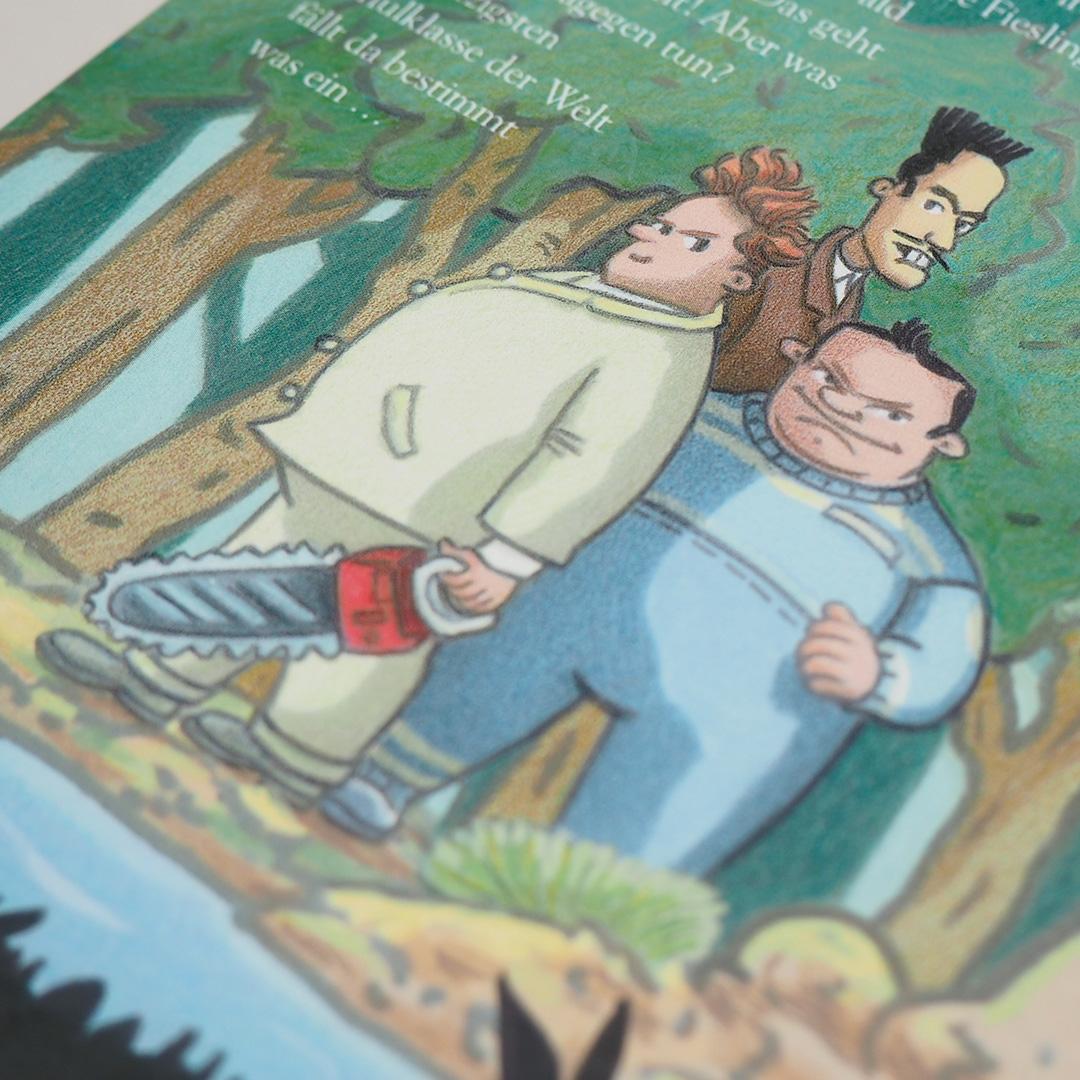 Ella und das Abenteuer im Wald