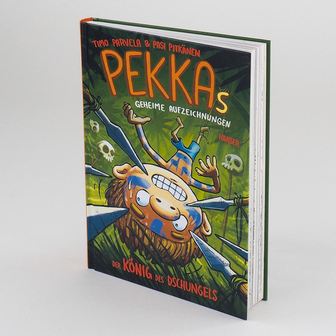 Pekkas geheime Aufzeichnungen - Der König des Dschungels