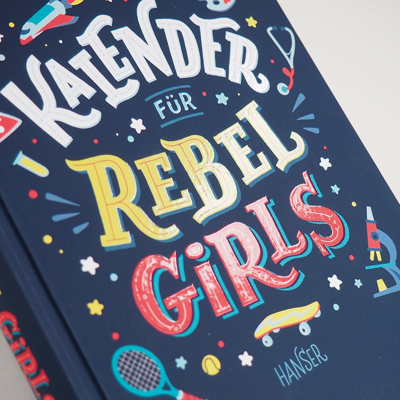 Kalender für Rebel Girls