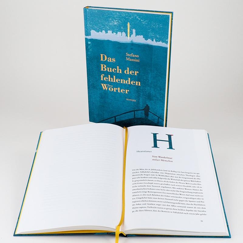 Das Buch der fehlenden Wörter