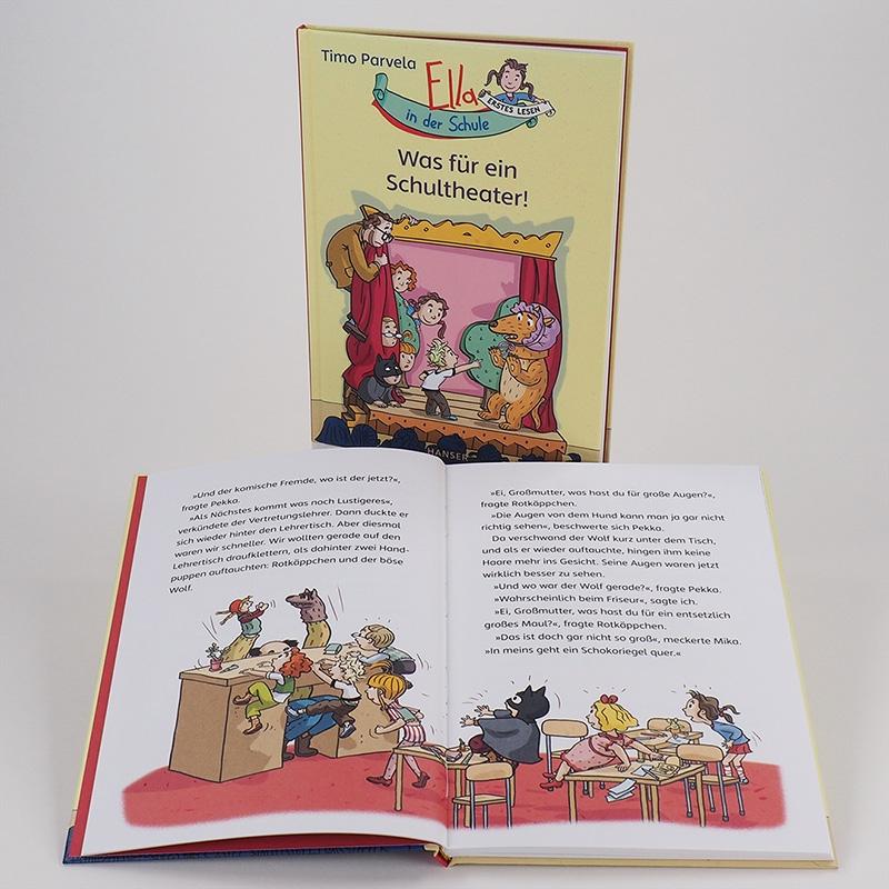 Ella in der Schule - Was für ein Schultheater!